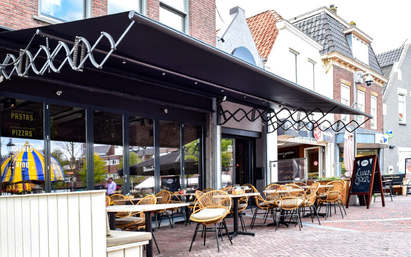 Coperture esterne dehor ristoranti locali armonik