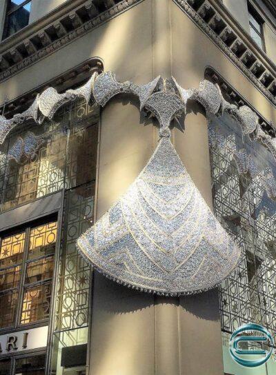 installazione bulgari new york collana diva