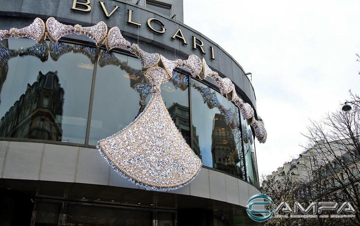 struttura bulgari collana diva parigi